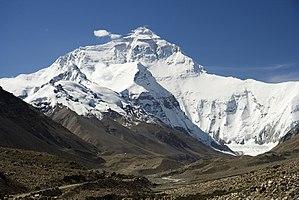 エベレスト ネパール チベット