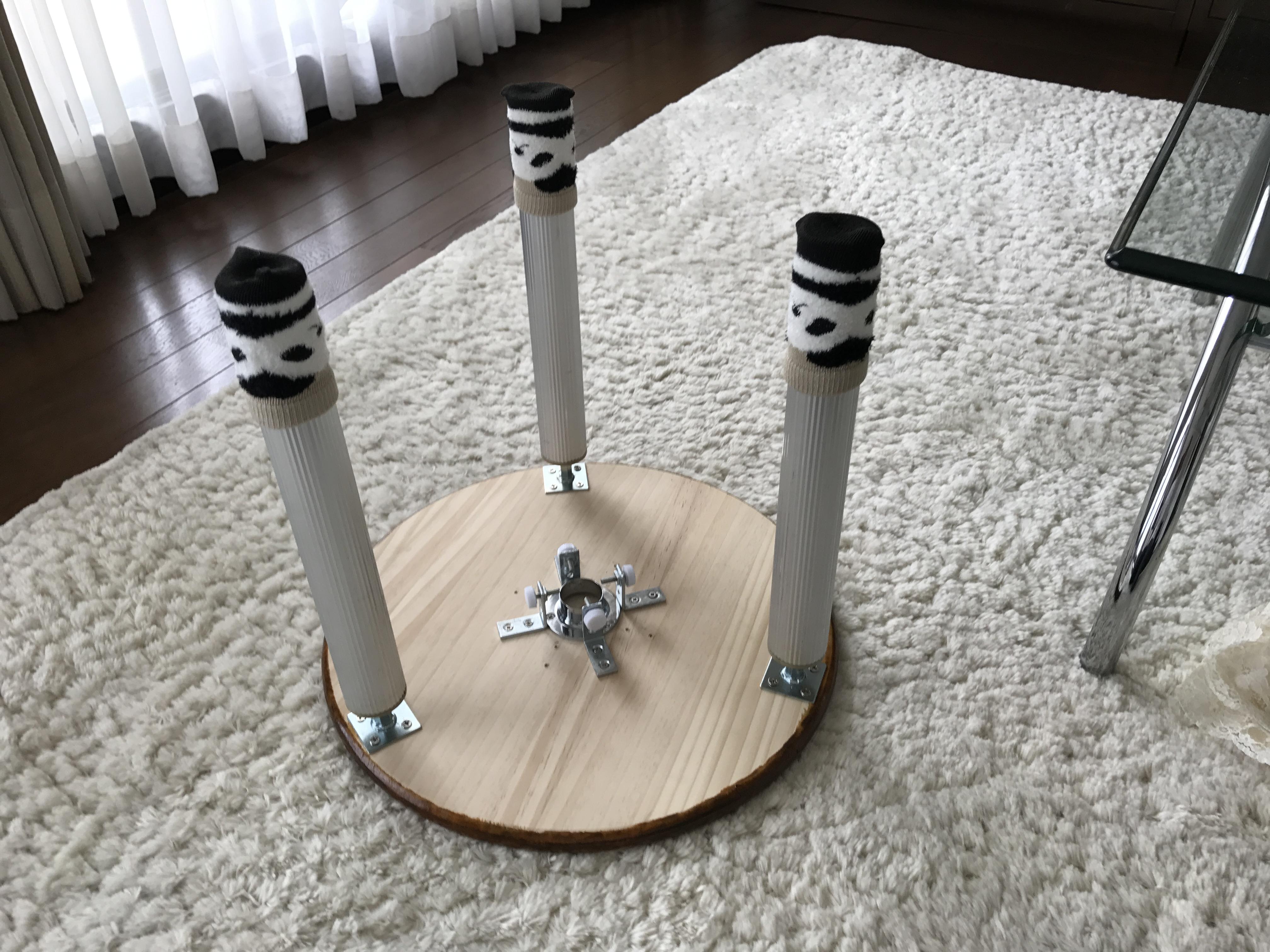 カングーのカフェテーブル使用シーン4