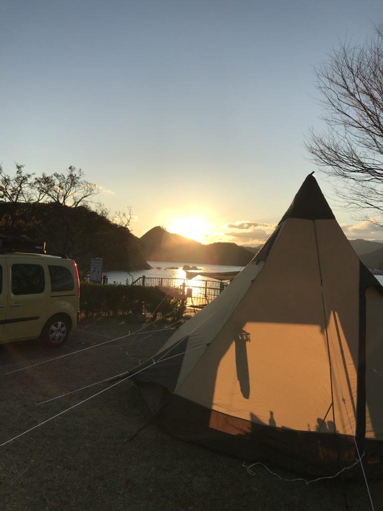 孫太郎の夕陽