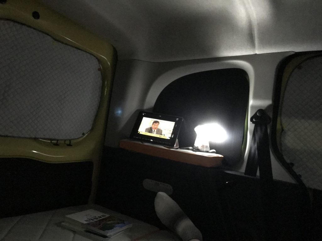 車中泊のサンシェードを自作|マグネットで取り付けるサンシェード