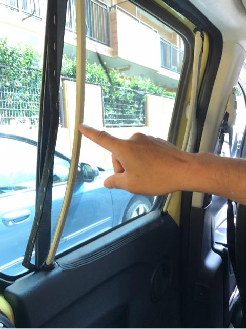 車の網戸を自作|車内側から簡単にセットできる車中泊用の網戸を自作