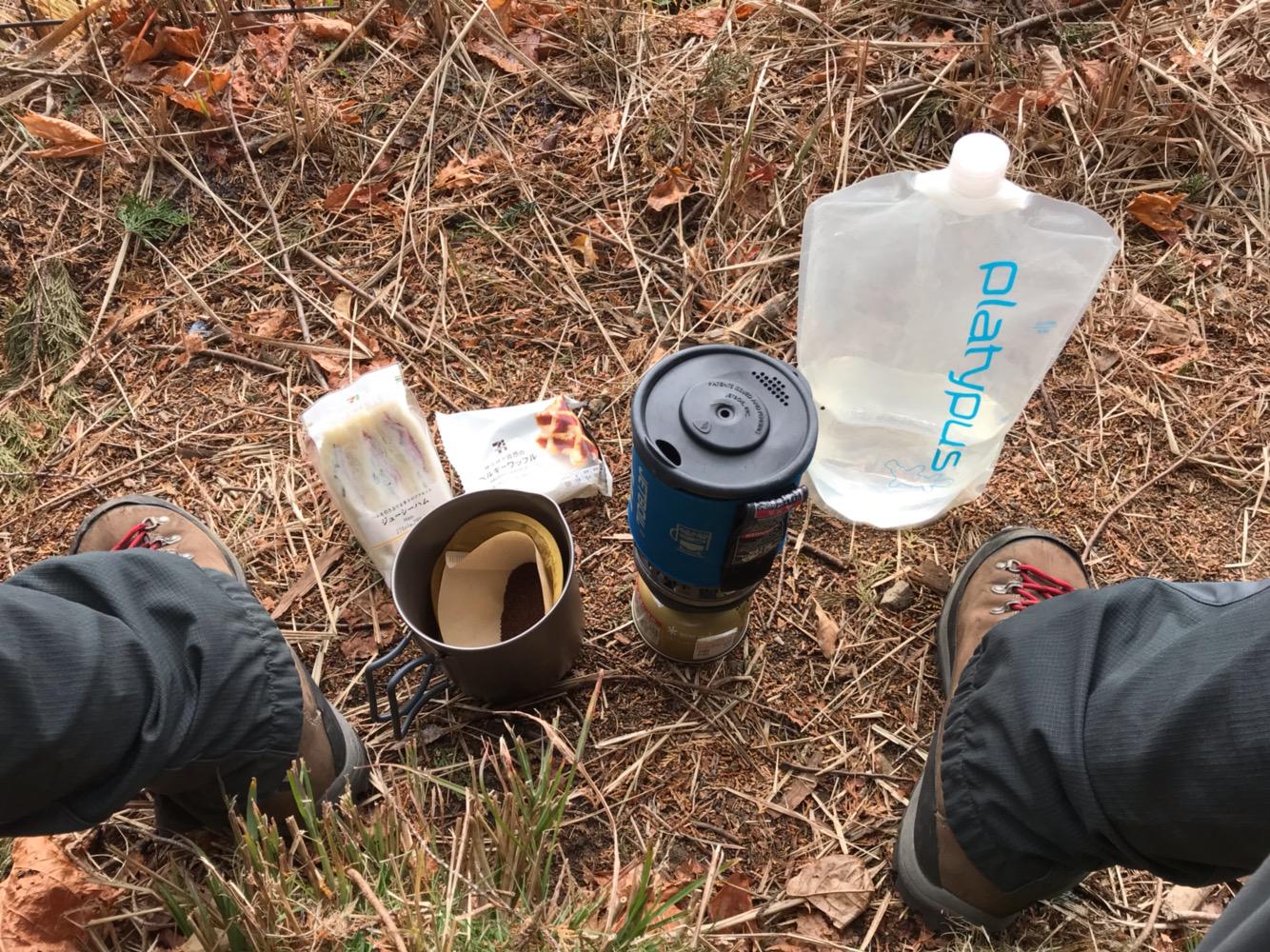 山頂コーヒーの淹れ方