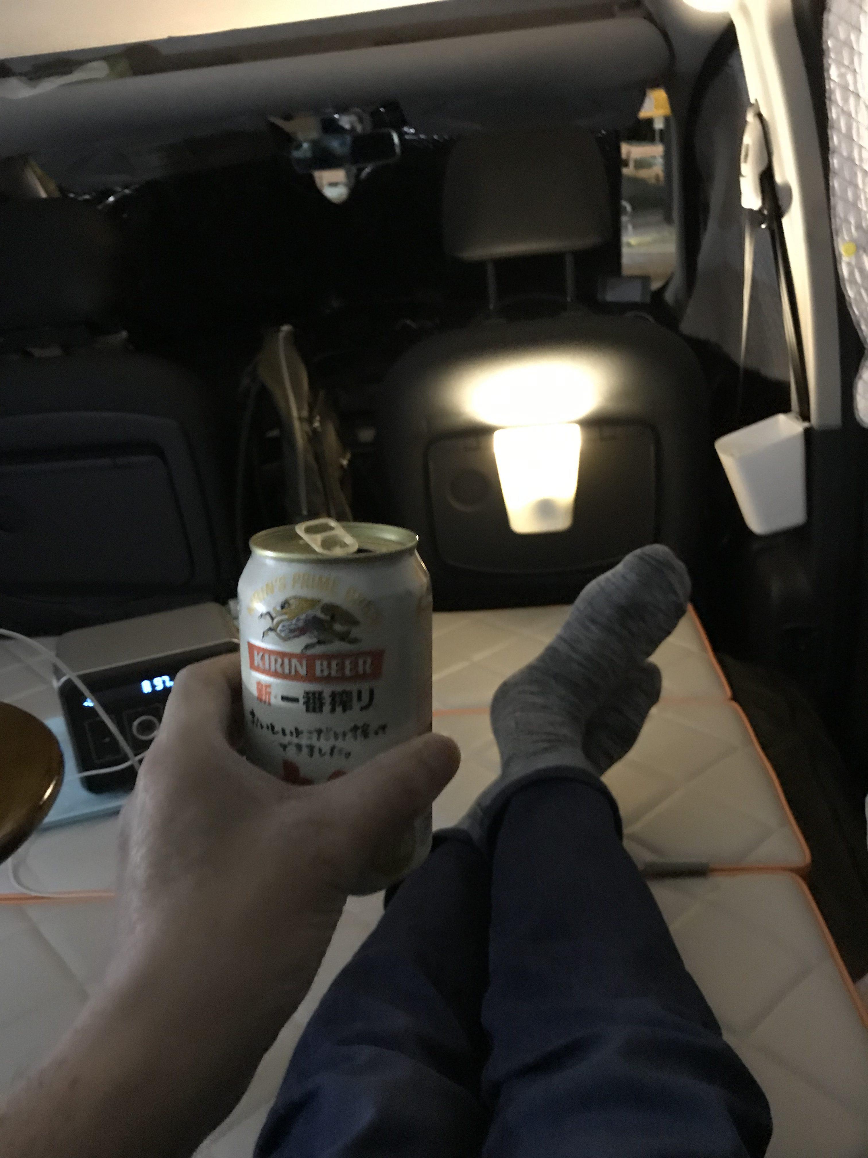 間接照明に乾杯~~