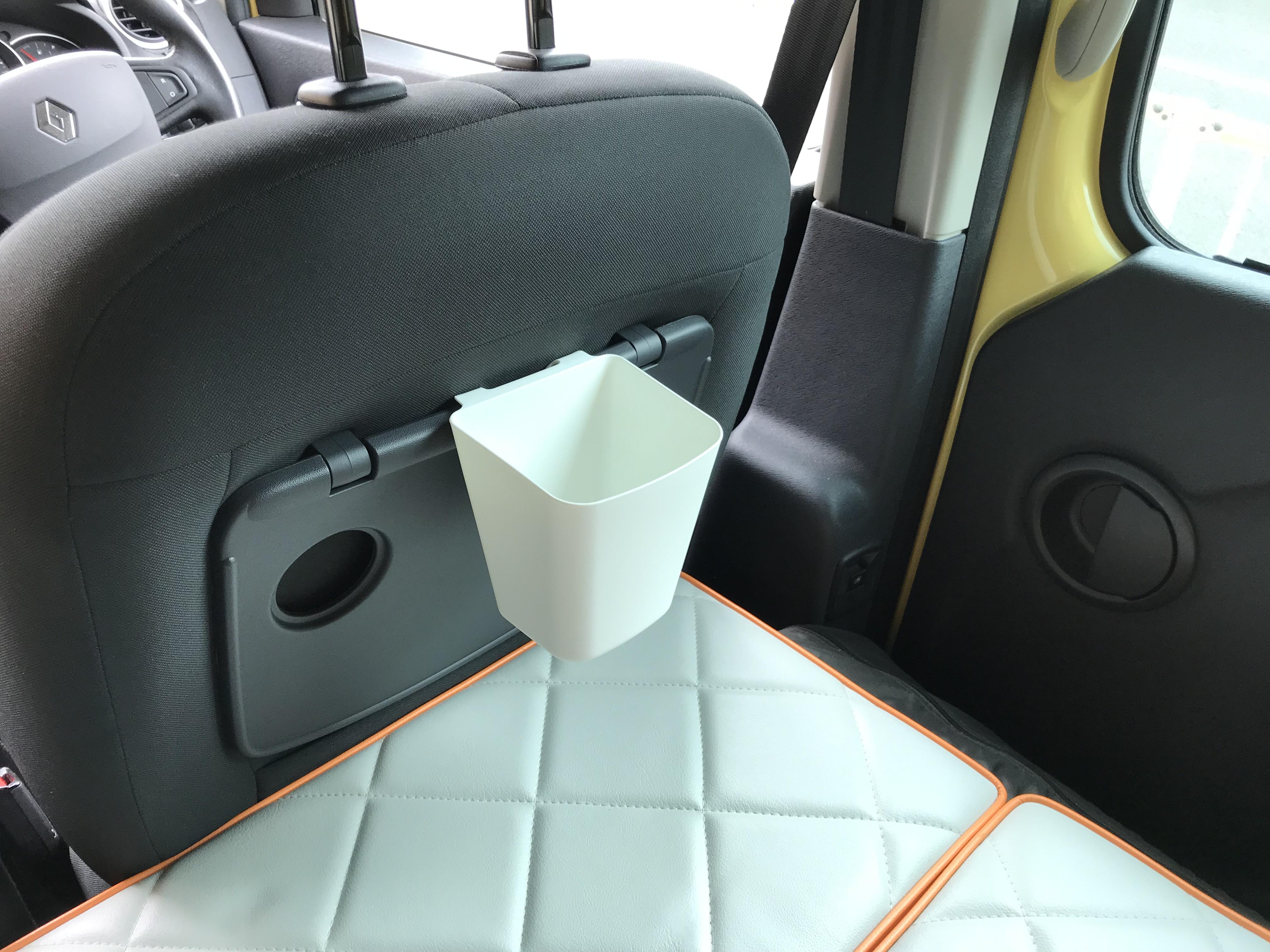 運転席後ろ装着時