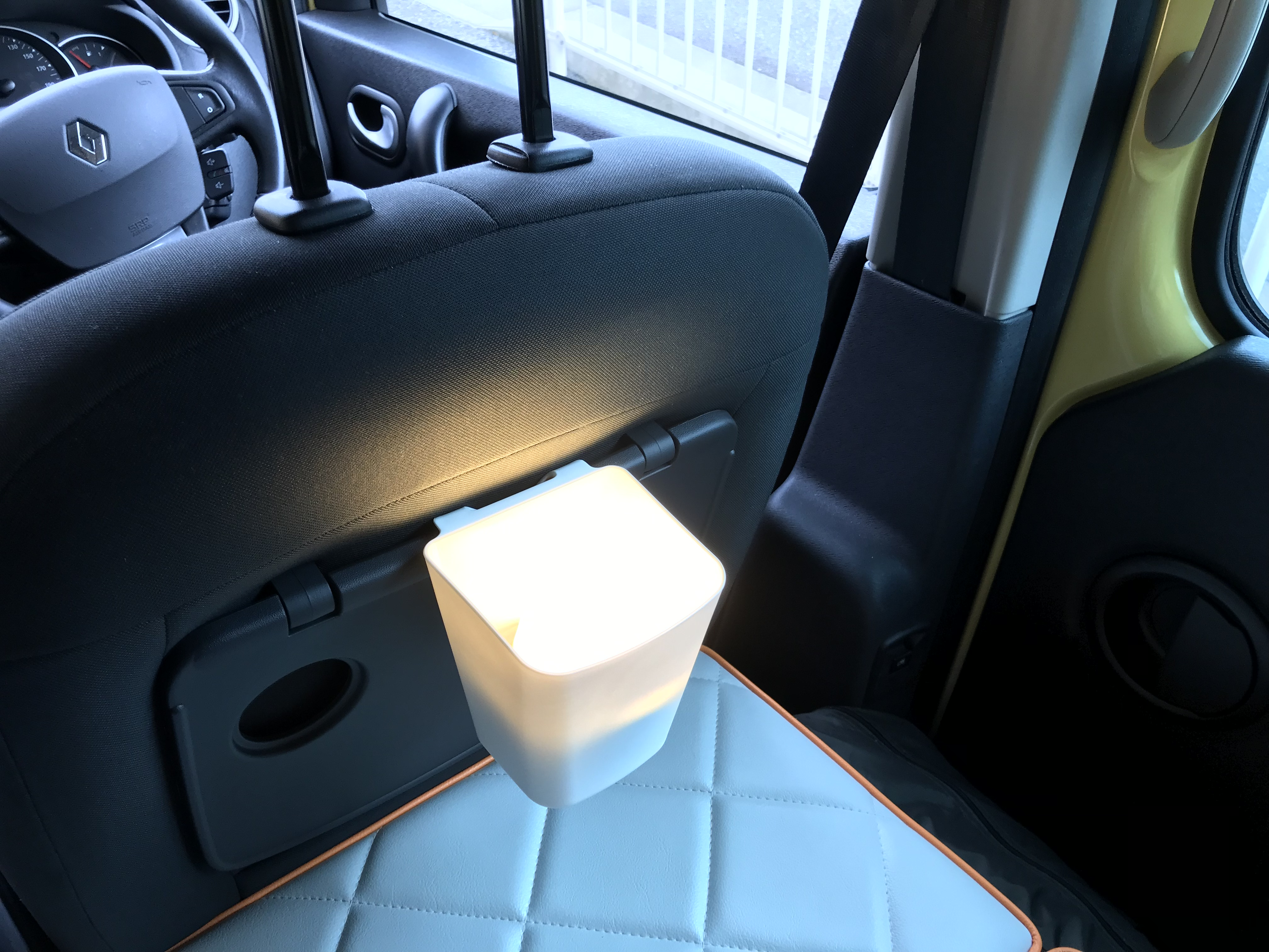 LEDランタン点灯