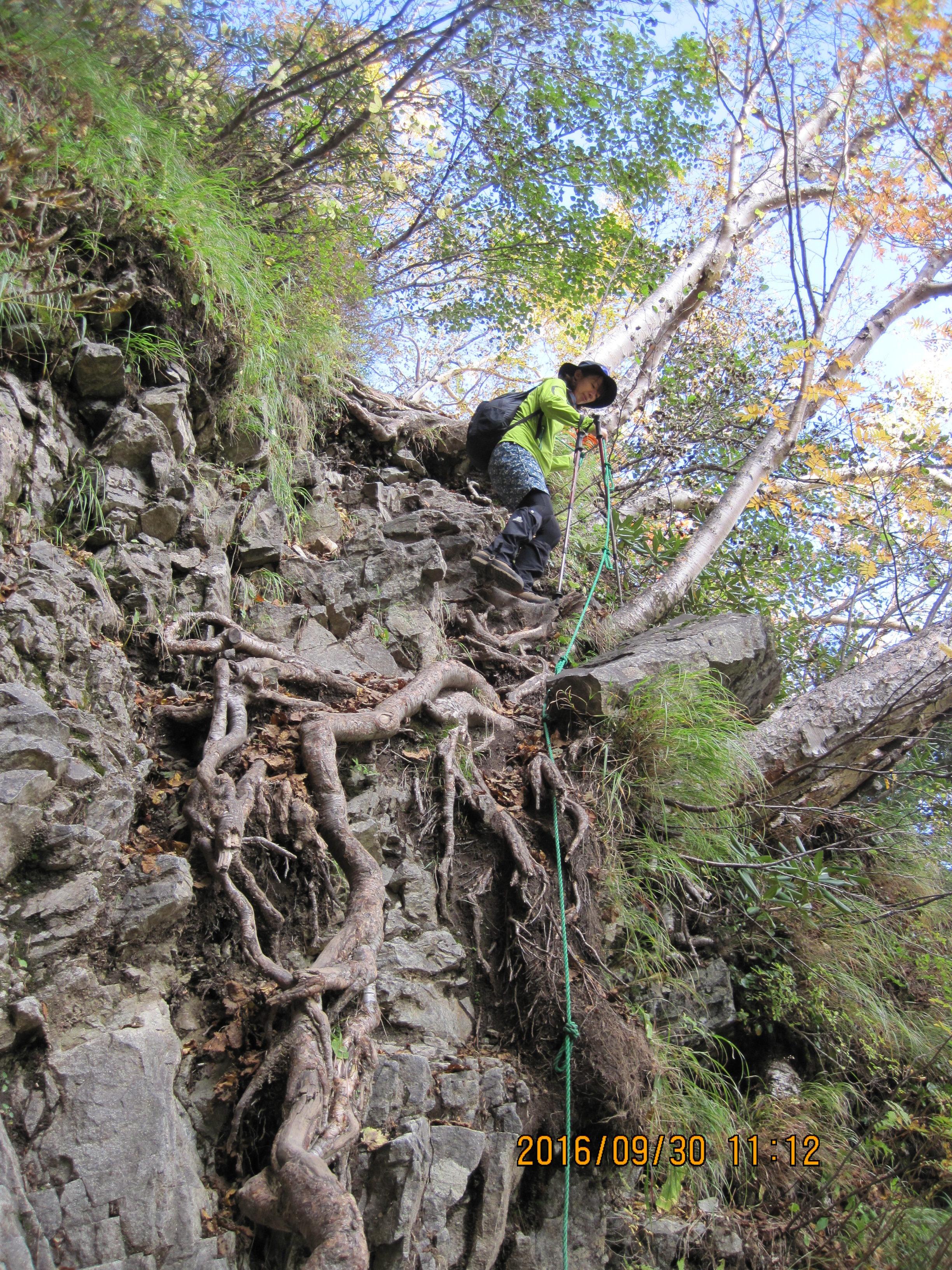 パノラマコースの登り