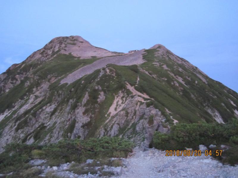 笠ヶ岳山荘を振り返ってみる