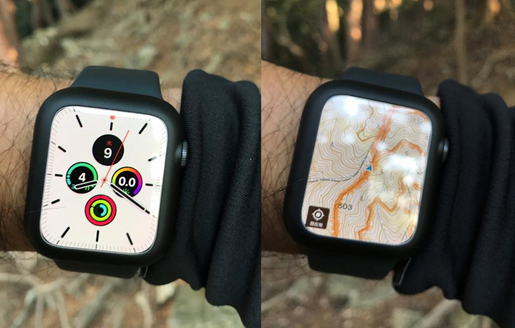 Apple watch版「ヤマレコ」で登山|簡単に地図をダウンロードする5つの手順