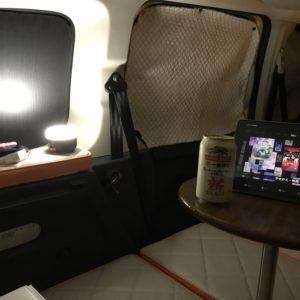 カングーで車中泊|おすすめの「BRISIE LEDランタン」の実体験レビュー