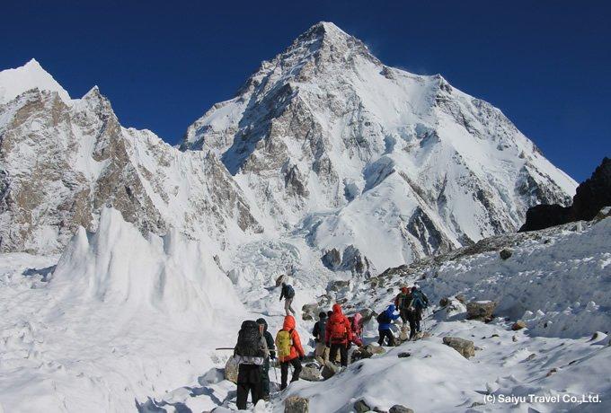 K2まで歩く