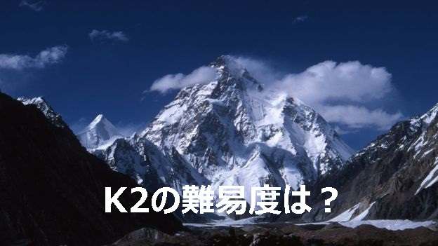 K2の難易度は?|名前の由来や「非情の山」ともいわれる伝説級の難易度を徹底解説