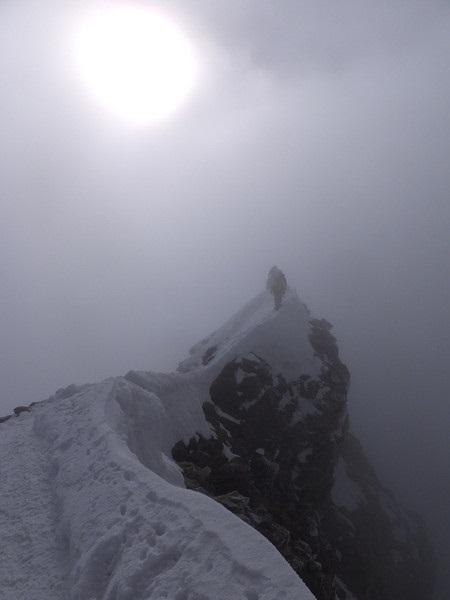 マッターホルンの山頂