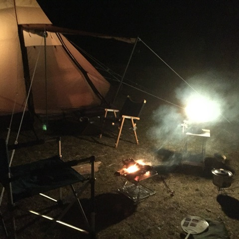 スノピの焚き火台