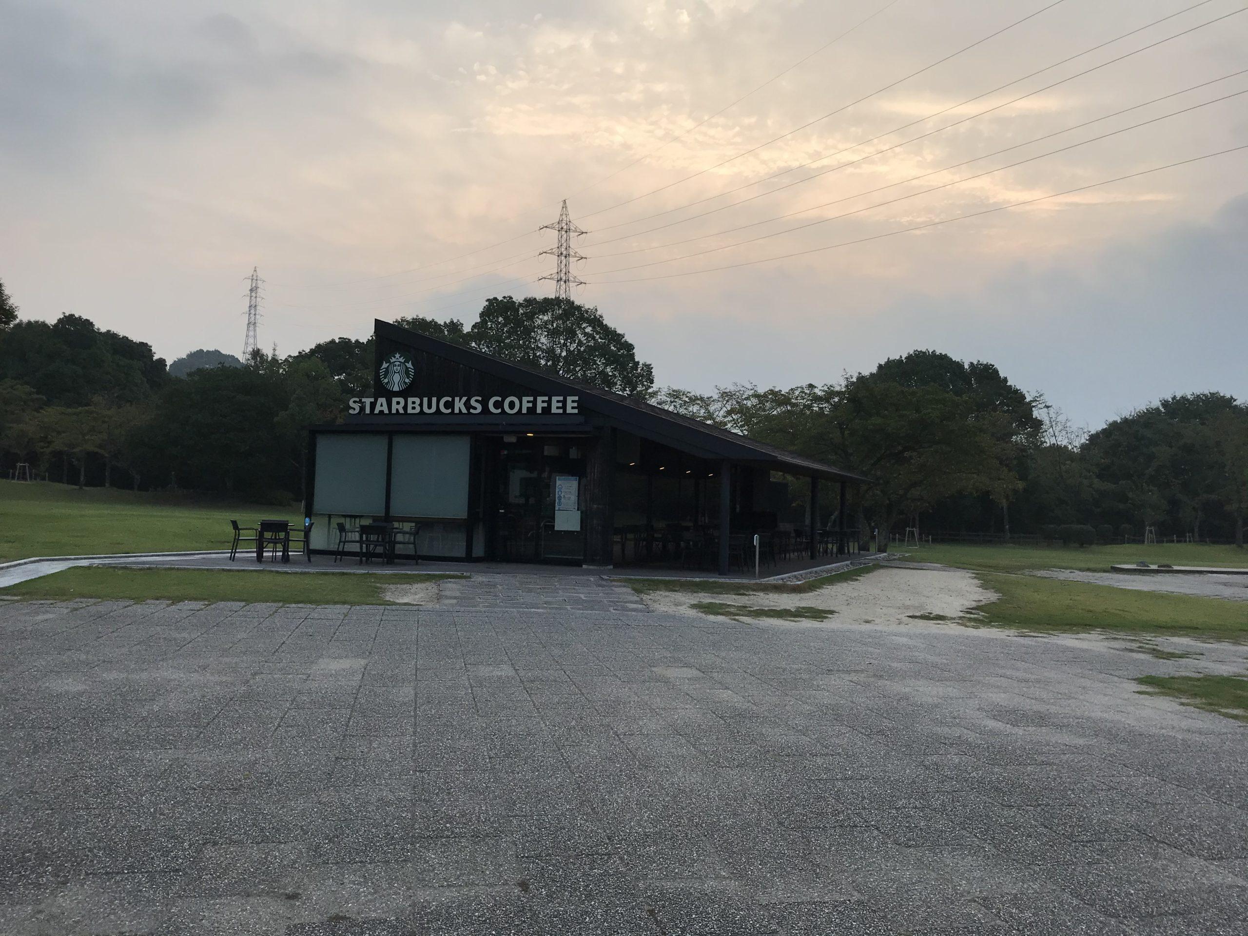 宮島サービスエリア(下り)のスタバ