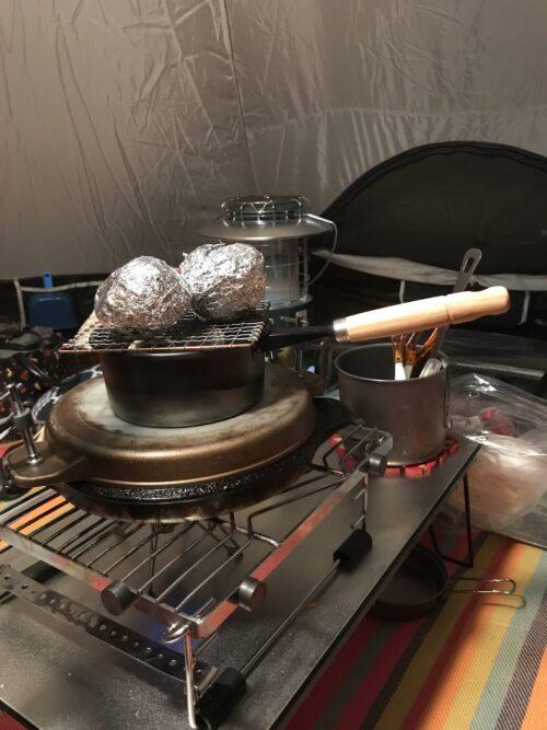 ピザ窯の代用品でピザを作る(実戦編1)
