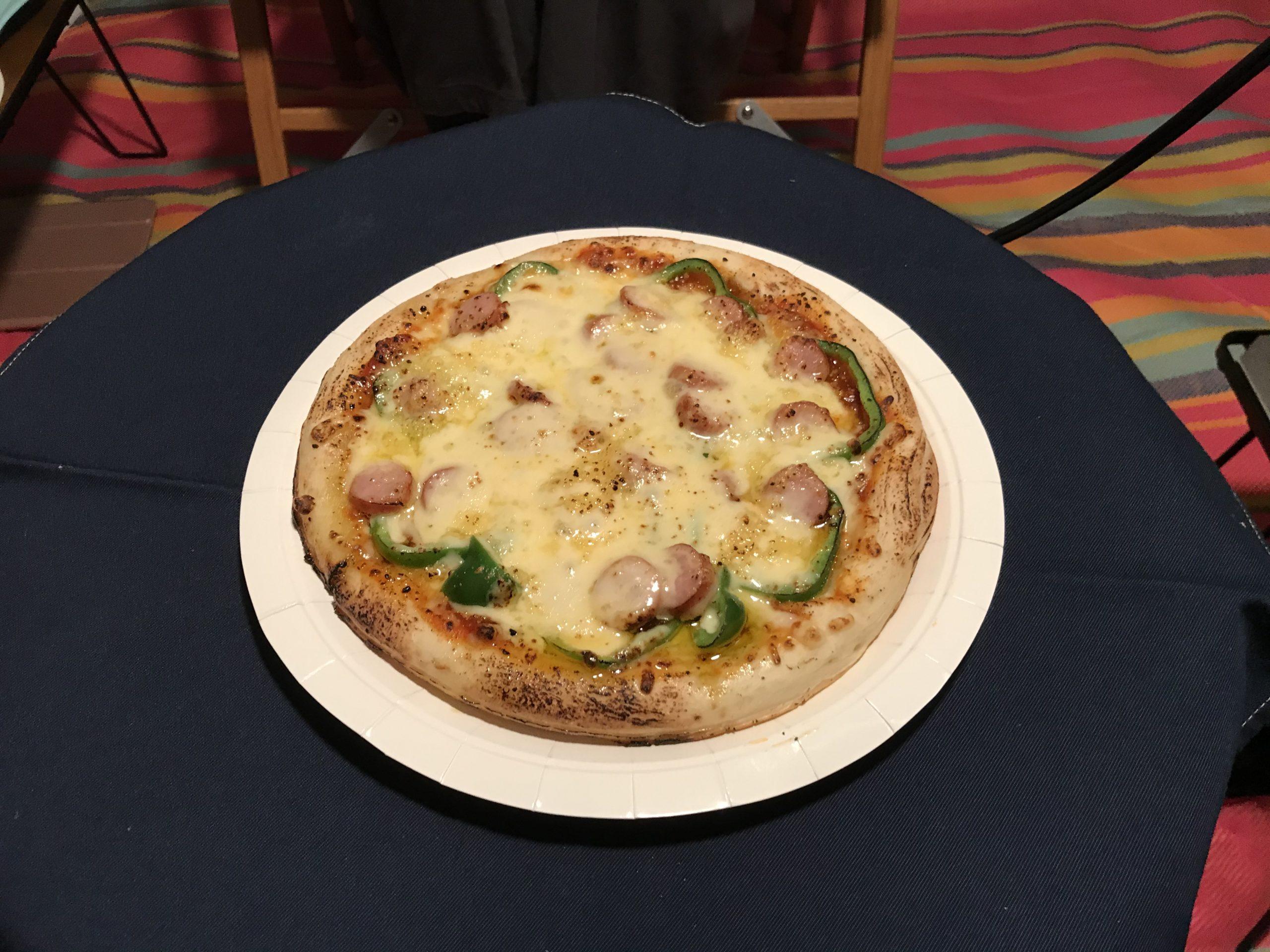 ピザ窯の代用品でピザを作る(実戦編2)
