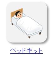 車中泊のベッドキットをクリック