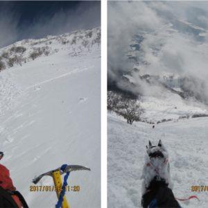 伊吹山で冬登山|難易度は低いが、ピッケル・重アイゼンは装備した方が良い理由