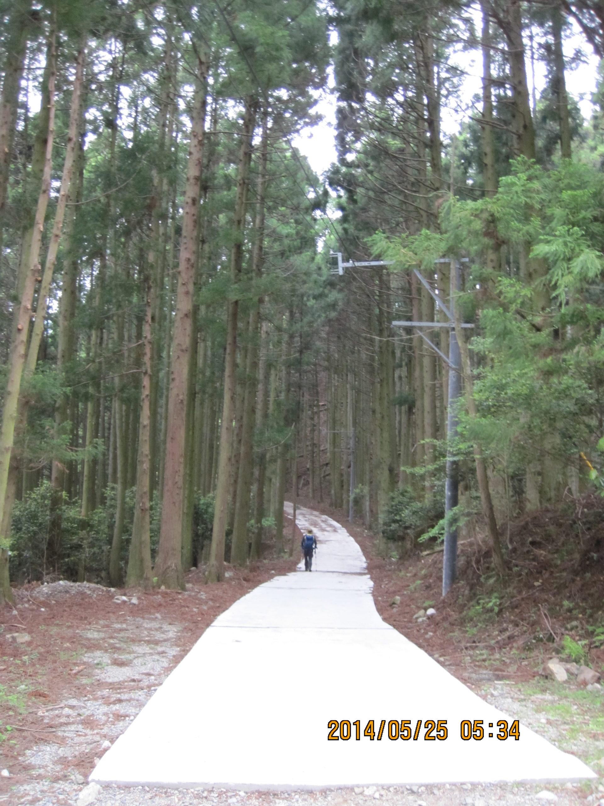 宇賀渓谷登山口