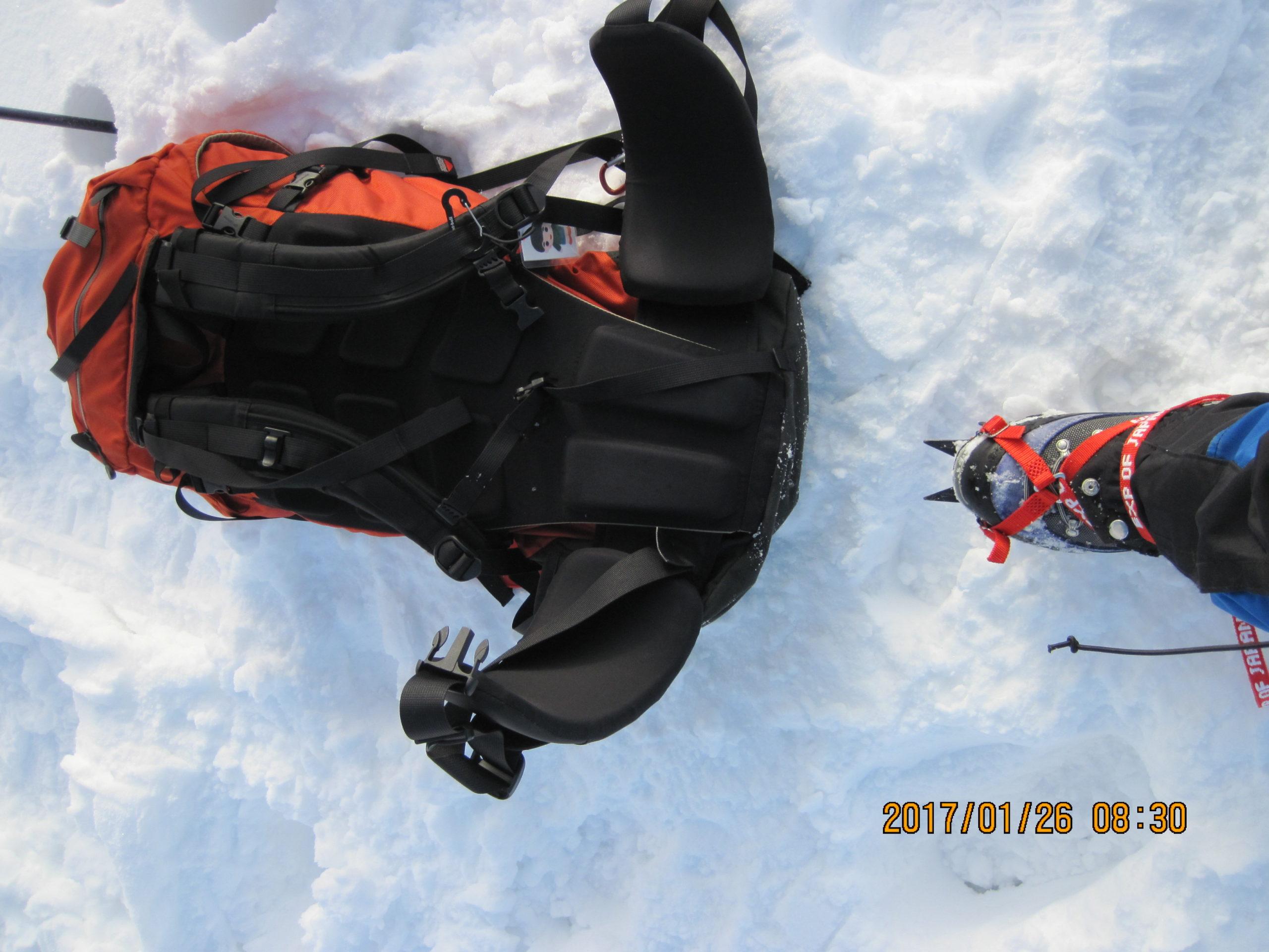 伊吹山で冬登山|重アイゼン