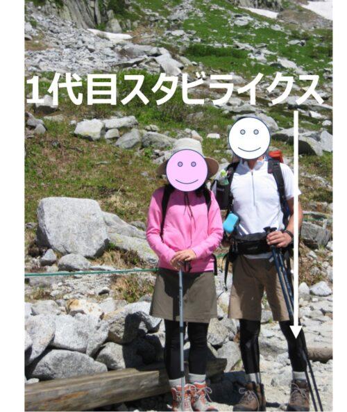 木曽駒ケ岳とCW-X1代目スタビライクスモデル