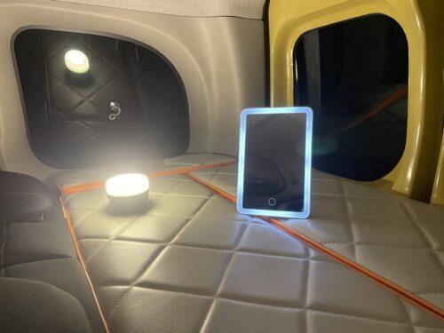 LEDライトの輝度を落としてみる