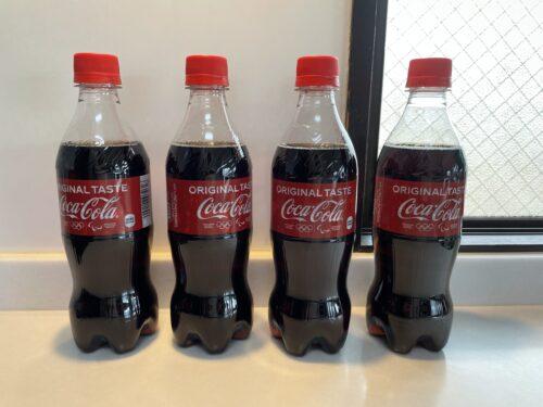 コーラのペットボトル
